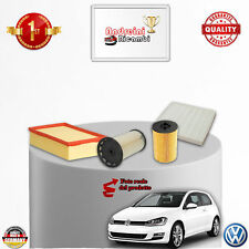 KIT TAGLIANDO FILTRI VW GOLF VII 1.6 TDI 81KW 110CV DAL 2015 ->