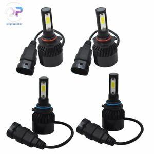 9005 9006 Combo LED Headlight Bulbs for Honda Accord 1997-2007 High&Low Beam US