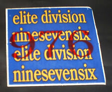 Vintage 976 Ninesevensix Elite Division aggresive inline skate stickers & decals