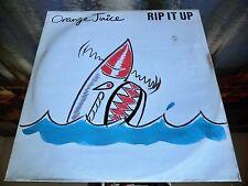 "LP Vinile Vinyl Orange Juice Rip It Up 12"""