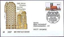 BRD 1994: Frauenkirche München! FDC Nr 1731 mit Bonner Stempel! Gelaufen! 1602