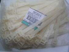 PANDUIT PRT2EH-C Releasable Cable Ties 228mm x 12.5mm White 10 Pieces MBD013a
