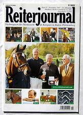 REITERJOURNAL - Fachmagazin für Pferdezucht & Reitsport in Baden-Württemberg