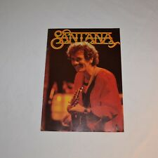 SANTANA - Tour programme ZEBOP ! tour 1981