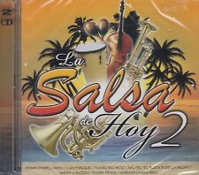 La Salsa de Hoy,India,Luis Enrique,Alvaro Ricardo,Adriana Chamorro CD+DVD New