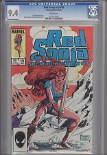 Red Sonja V3 #10  CGC 9.4 1985  Marvel Barbarian Comic:  Mary Wilshire Cover