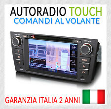"AUTORADIO 7"" Interfaccia Originale BMW Serie 3 E90 E91 E92 E93 320 D 325 318 i"