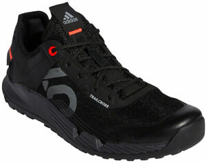 Five Ten Women's Trailcross LT Flat Shoes | Core Black/Grey Two/Solar Red | 7.5