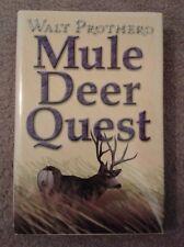 "Safari Press Book ""Mule Deer Quest"" by Walt Prothero"