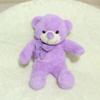 60CM Purple Teddy Bear Gift Stuffed PP cotton Animals Plush Kid Children Toys