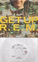 R.E.M. Get Up  rare promo 45 with PicSleeve  REM