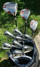 TAYLORMADE R7 FULL SET Men's RH STIFF 1W 3W 3H 3-SW Putter (12 Clubs)