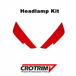 Pro Paint Protection Film Headlamp Kit 2pcs For Audi A4 S4 2017-2019