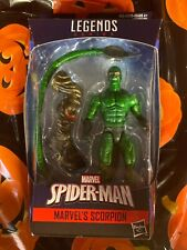 "Scorpion - Sealed 6"" series figure - Marvel Legends series - Molten Man BAF"