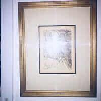 "SALVADOR DALI ""EL GRECO"" *Original Signed Etching (1960's) With COA."