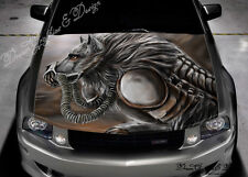 Car Bonnet Stickers EBay - Custom vinyl decals for car hoodssoldier full color graphics adhesive vinyl sticker fit any car