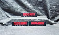 Mogami Cables THREE (3) Sticker Set<<>>RARE