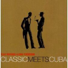 KLAZZ BROTHERS & CUBA PERCUSSION - CLASSIC MEETS CUBA  CD 6 TRACKS NEU