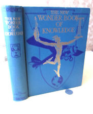 THE NEW WONDER BOOK Of KNOWLEDGE,1934,Henry Chase HIll,Illust