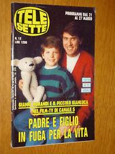 TELESETTE 1993/12=GIANLUCA SPADETTO=MARICARMEN REGUEIRO=MAURIZIO DONADONI=