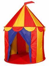 Red Floor Circus Tent Indoor Children Play House Outdoor Kids Toy Castle