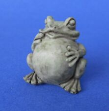 Miniature Dollhouse Garden Toad Statue 1:12 Scale New
