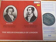 SOL 284 Beethoven/Weber/Melos Ensemble di Londra