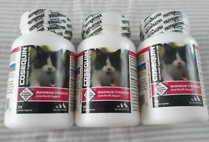 3 Cosequin for Cats Joint Supplement Arthritis Sprinkle Caps Vet Recommended