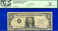 *1963-A $1 FRN ** Error Note **(( Missing Seal & Serial Numbers  )) PCGS VF-20