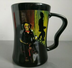 Thorpe Park Saw The Ride 3D Collectable Mug Cup with Billy Design