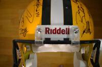 Green Bay Packers SB XLV Team Signed Full Size Helmet Aaron Rodgers + 34 NFL