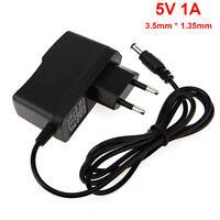 3.5mm * 1.35mm UE Plug Chargeur AC 100-240V À DC 5V 1A Adaptateur D'alimentation