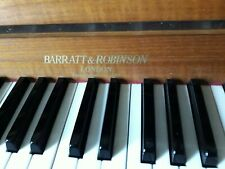 More details for upright piano by barratt and robinson, london, made and played in england!!