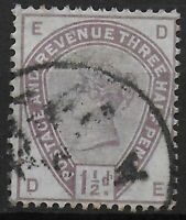 SG188.  1&1/2d.Lilac.  A Very Fine Used Example.  Cat.£42.  Ref:0447