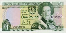 Jersey P-15 1 pound (1989-1993) UNC