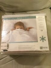 "J C PENNEY HOME COLLECTION ""FLAX"" QUEEN SIZE FLANNEL SHEET SET"