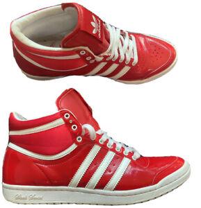 Rare Adidas Sleek Series Red Hi Top SY2 035002 ART G61361 UK 6 US 7.5 EUR 39