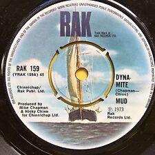 Mud - Dyna-Mite / Do It All Over Again - RAK 159 Ex Condition A1/B1 Dynamite