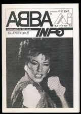 ABBA - ABBA Info - Dutch Fanclubmagazine No.18