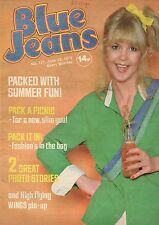 Blue Jeans Magazine 23 June 1979  No. 127     Wings