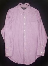 Lauren Ralph Lauren Womens 17 32/33 Classic Non-Iron Button Down Shirt