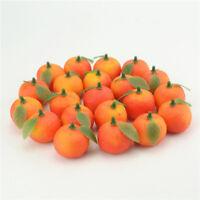 Fake Foam Orange Lifelike Fruit For DIY Wedding Simulation Tree Home Decoration