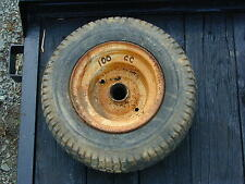 #100 Vintage Cub Cadet Garden Tractor Front Tire Wheel 18 x 6.50 - 8