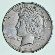 (1) VG-XF 1922 Peace US Silver Dollar 90% US Coin Eagle Reverse American - Circ