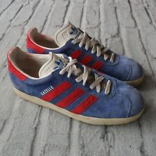 Vintage 1994 Adidas Gazelle Suede Shoes Size 9