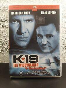 K 19 The Widowmaker DVD K-19 Harrison Ford Liam Neeson Action Submarine Movie