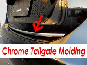 Fit Dodge 2003-2018 Models Tailgate TRUNK Trim Molding - CHROME Style