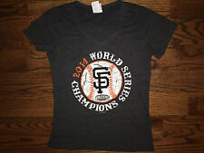 L Women's MLB 5th & Ocean San Francisco Giants 2014 World Series Champs T-Shirt