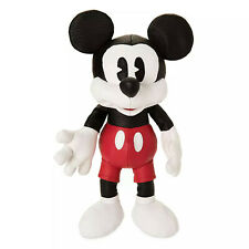 Mickey Mouse Simulated Leather Plush Toy Disney Store Exclusive 25cm