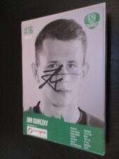 61974 Jan Guretzky DHFK Leipzig Handball original signierte Autogrammkarte